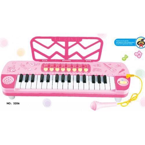 Đàn Organ Phát Nhạc Mini Cho Bé (Màu Hồng)