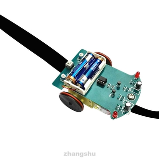 Smart Tracking Competition DIY Education Electronics Kids Line Following Soldering Project Motor