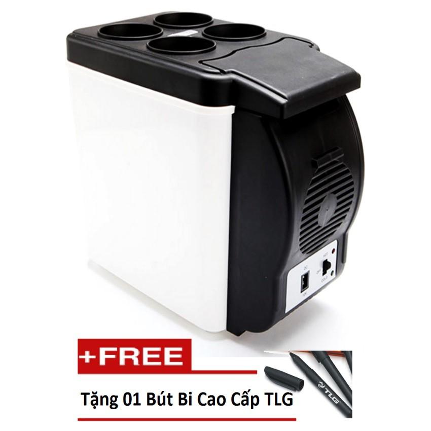 Tủ lạnh mini ô tô du lịch dã ngoại PORT ABLE ELECTRONIC TL 083 (Trắng) tặng 01 bút bi cao cấp TL
