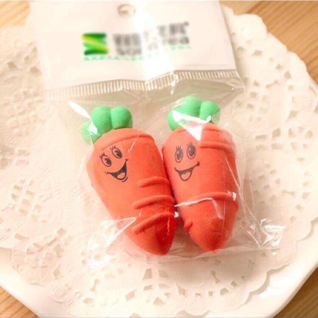tẩy cà rốt( 1 túi 2 chiếc)