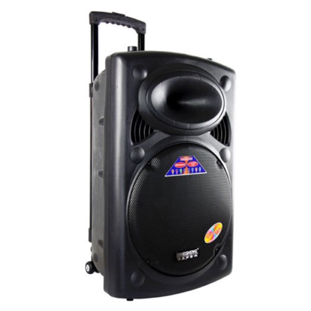 Loa kéo Temeisheng DP-2305L bass 40CM tặng 2 mic