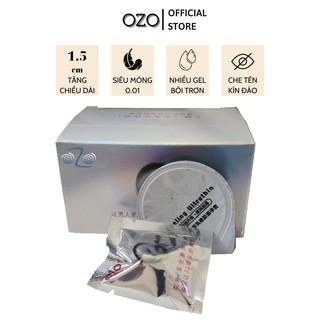 Bao cao su OZO 0.01 Trắng Soft Growth, mỏng, nhiều gel bôi trơn, tăng chiều dài 1,5cm - Hộp 05 bcs-olo store thumbnail