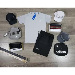 Bộ Nike, Adidas Hè Logo Phản Quang Siêu Đẹp