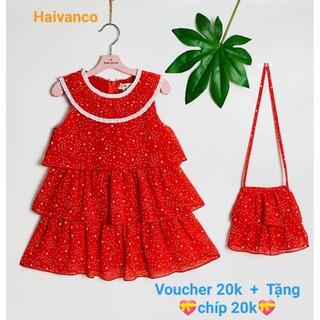 👉Haiv2 giảm 20k👉 Váy đầm voan bé gái siêu đẹp haivanco cho bé từ 15 đến 35 kg