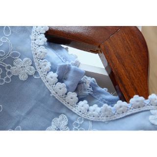 Đầm Xòe Công Chúa Phối Ren Xinh Xắn Cho Bé Gái Từ 3-8 Tuổi