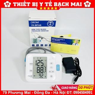 [SIÊU RẺ] Máy Đo Huyết Áp Bắp Tay Oromi YK-BPA6 Có Giọng Nói Tiếng Việt thumbnail