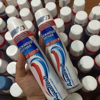 Kem đánh răng dạng ống bơm..hàng xách tay Nga