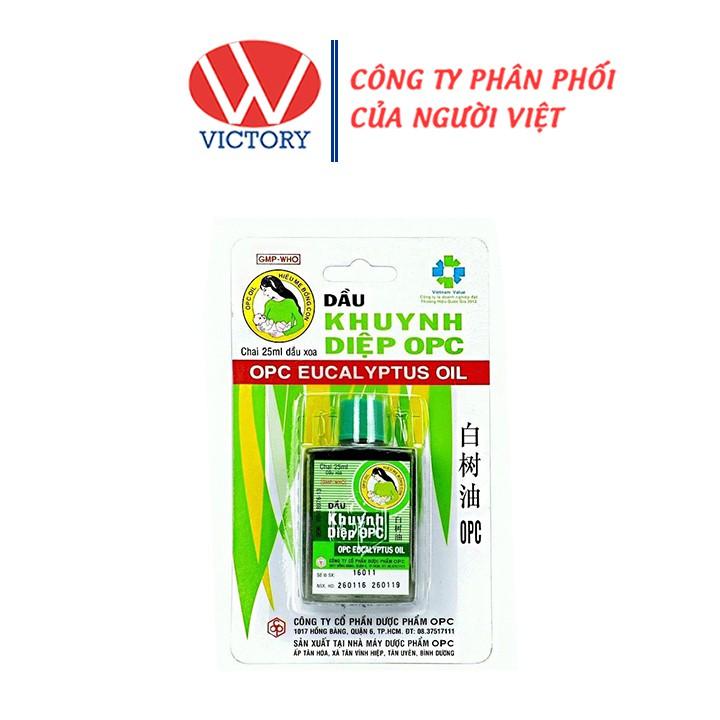 Dầu Gió Khuynh Diệp OPC (Chai 25ml) - Victory Pharmacy
