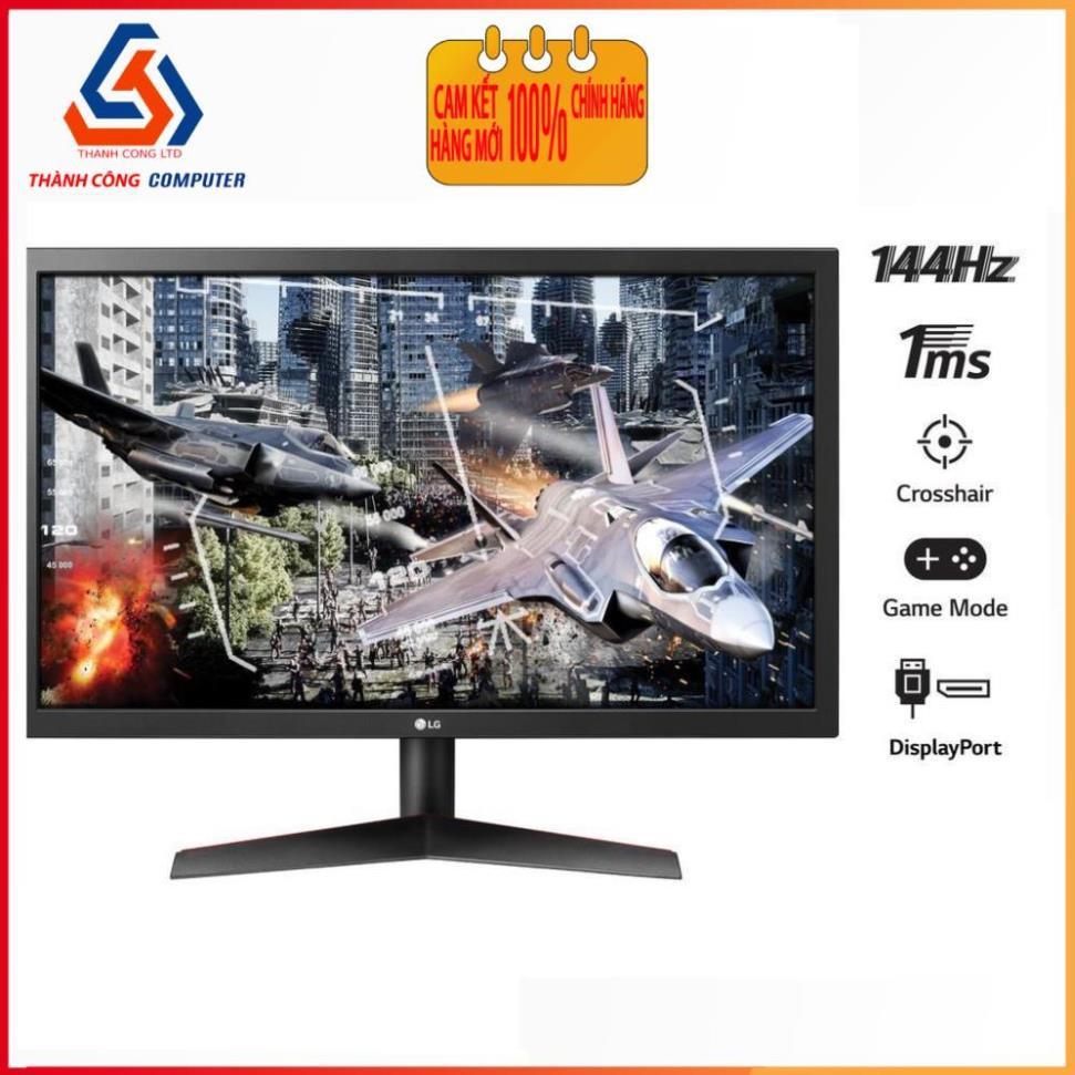 Màn hình LG 24GL600F-B (23.6 inch/FHD/TN/144Hz/1ms/300nits/DP+HDMI)