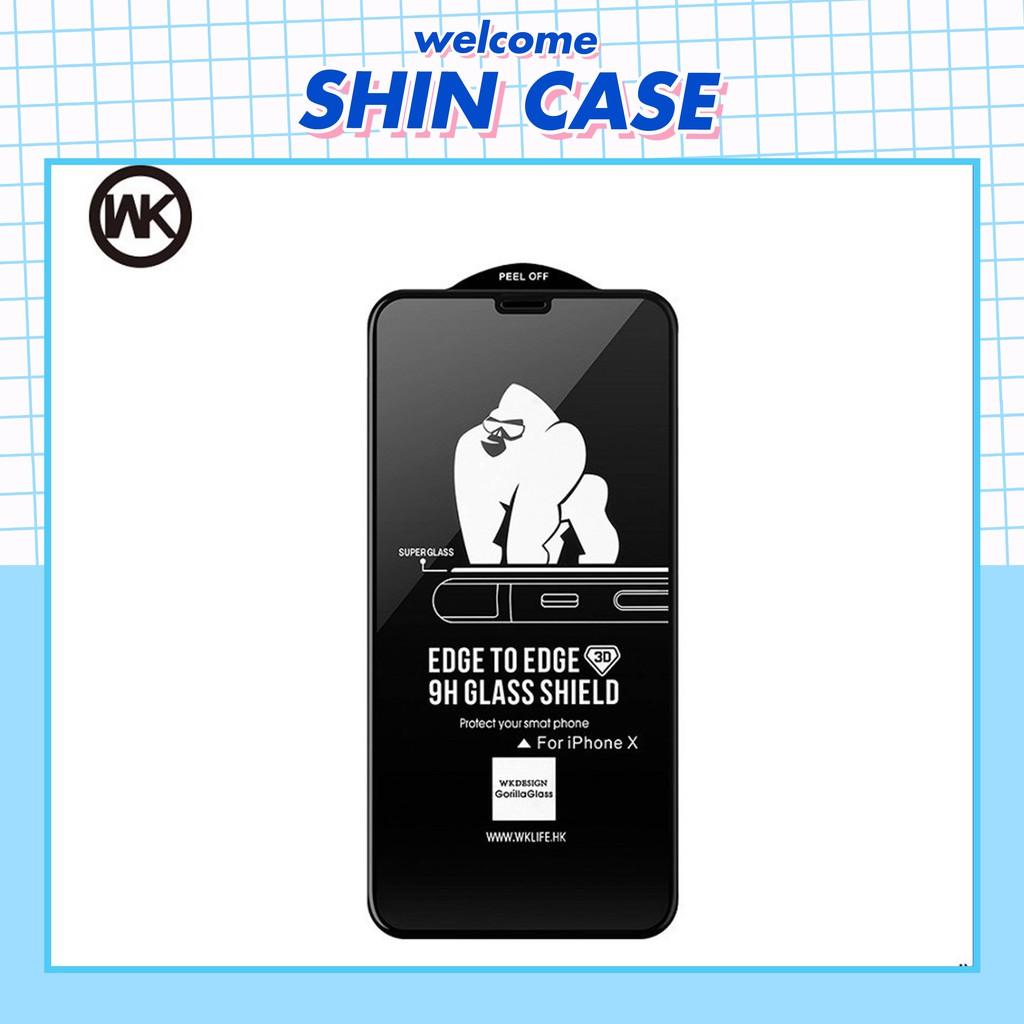 Kính cường lực King Kong Chính Hãng 6/6plus/6s/6s plus/6/7/7plus/8/8plus/x/xs/xs max/11/11 pro/11promax - Shin case [PK]