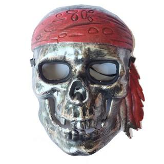 Mặt nạ xương cướp biển đen hóa trang Halloween
