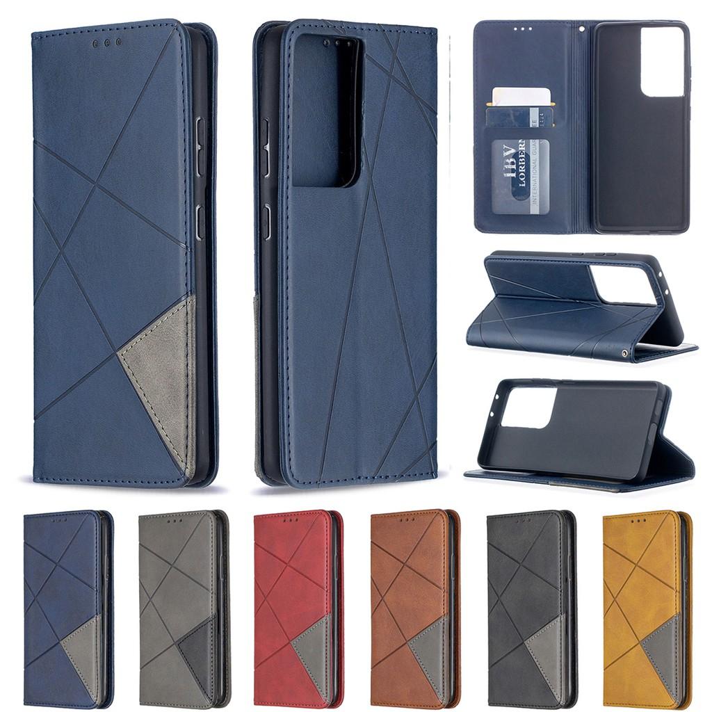 4. Bao da cao cấp sang trọng điện thoại Samsung Galaxy S21 Ultra/Plus