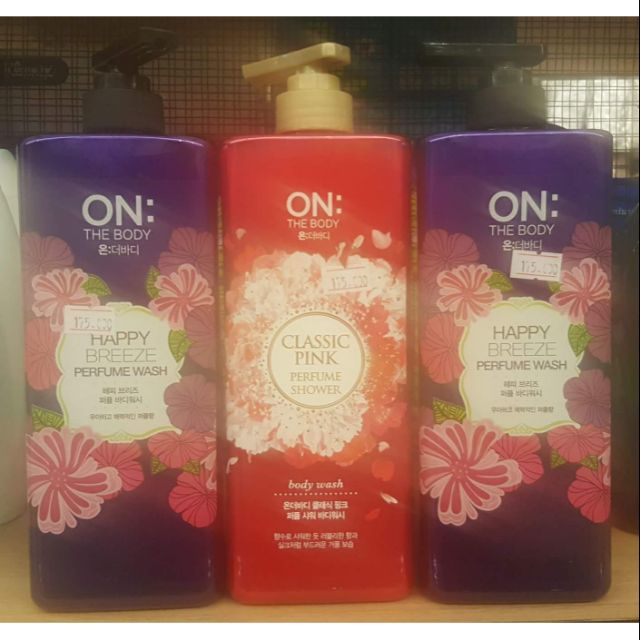 SỮA TẮM NƯỚC HOA ON THE BODY - Happy Breeze & Perfume Shower