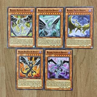 """Thẻ bài yugioh TRUNG QUỐC, Những Con Rồng Thần """"Malefic"""""""