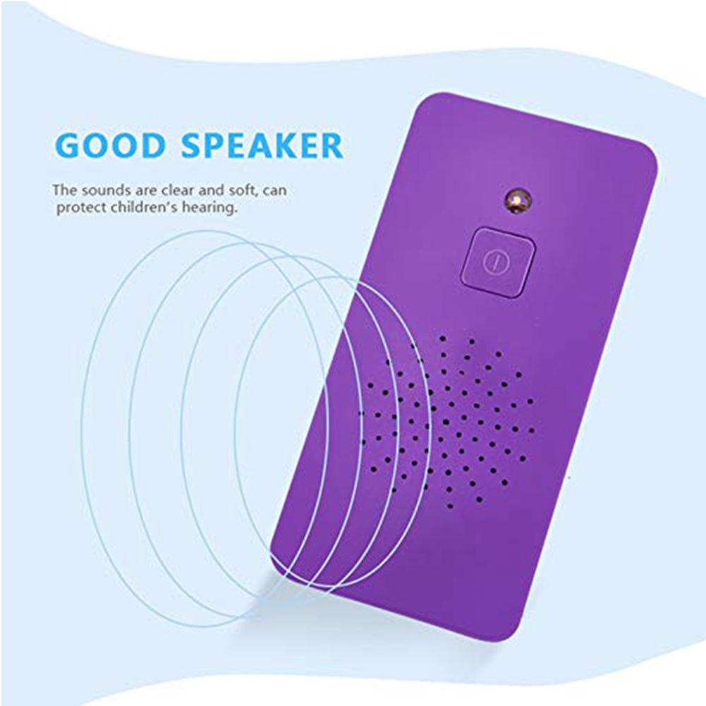 Funny Smart Phone For Kids Electronic Toy Touch-screen Mini Beneficial Music Learning Durable Rechargeable ABS
