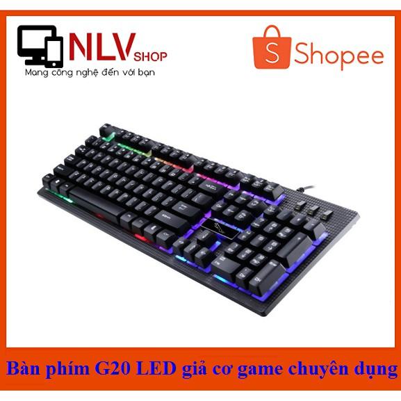 ?Free Ship? Bàn phím G20 LED Giả Cơ Game Chuyên Dụng - 2710651 , 491554305 , 322_491554305 , 155000 , Free-Ship-Ban-phim-G20-LED-Gia-Co-Game-Chuyen-Dung-322_491554305 , shopee.vn , ?Free Ship? Bàn phím G20 LED Giả Cơ Game Chuyên Dụng
