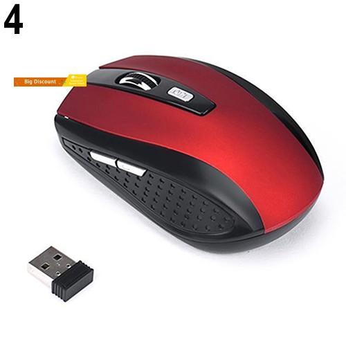 Chuột Không Dây 1200dpi 2.4ghz Cho Pc Laptop