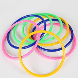 16.5CM 5Pcs Hoop Ring Toss Cast Circle Sets Educational Toy Kids Puzzle Ga