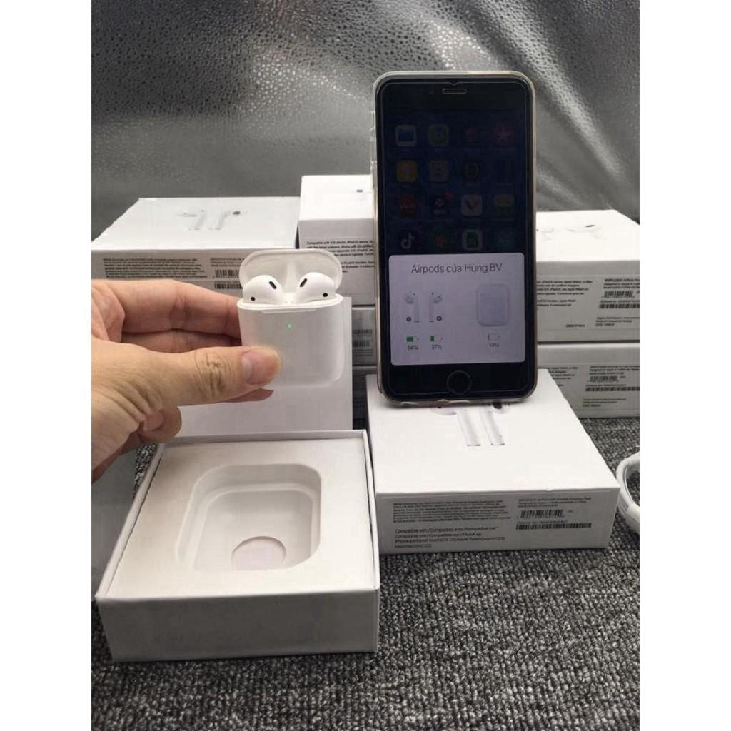 AIR.PODS 2TẶNG VỎ BỌC XỊNTai Nghe Bluetooth Phiên Bản Cao Cấp Nhất - Dùng Cả IOS Và Android- BAỎ HÀNH 6 THÁNG 1 ĐỔI