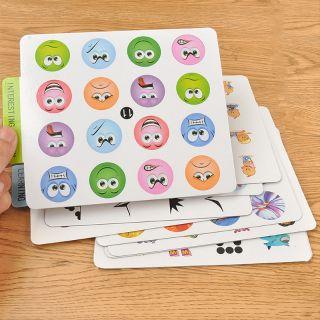 Đồ chơi lật hình phát triển trí thông minh cho trẻ