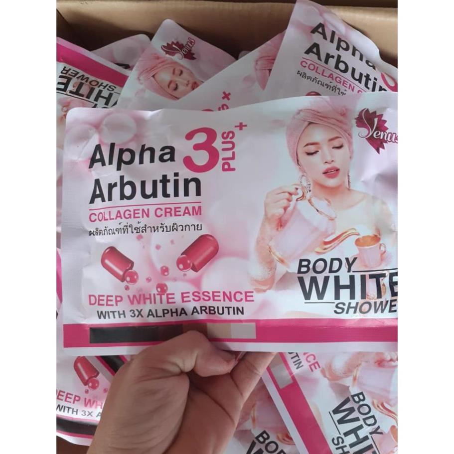 Ủ Trắng Body Alpha Arbutin Cream 3Plus+[ THÁI LAN] mẫu mới nhất CHUẨN AUTH