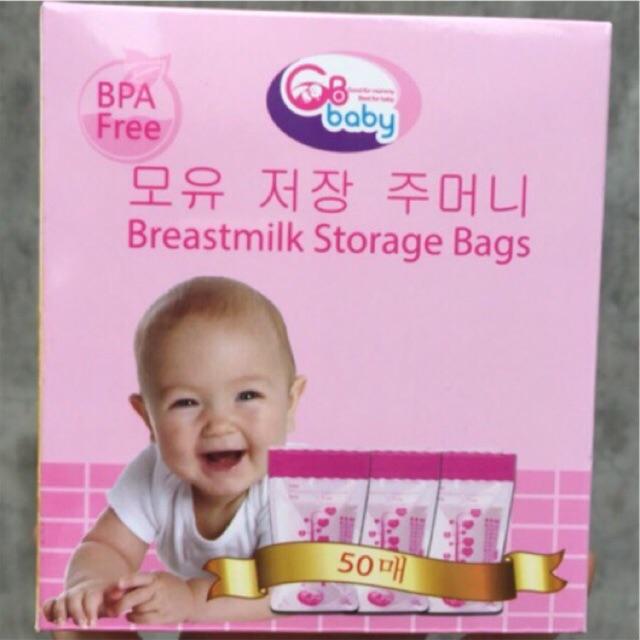 Túi Trữ Sữa GB Hàn Quốc - Hộp 5
