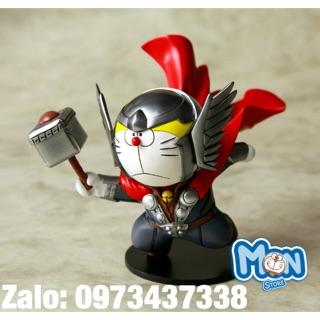 Mô Hinh nhựa PVC Doraemon Avenger Thor
