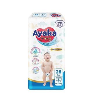(NUTIFOOD) Tã quần Ayaka - bỉm quần Ayaka công nghệ Nhật size S32 M30 L28 XL26 XXL24 thumbnail