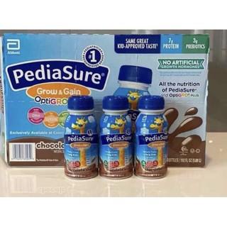[Date 8/2021]-Sữa nước pediasure vị socola 237ml cho bé -Hàng Mỹ