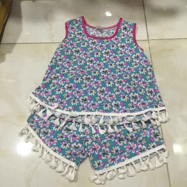 Bộ quần áo tole thời trang bé gái