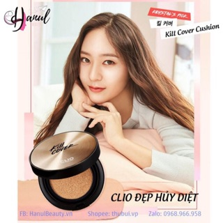 Phấn nước CLIO KILL COVER FOUNWEAR / CONCEALER / AMPOULE CUSHION