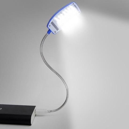 [FREESHIP] Đèn 28 bóng cổng USB uốn dẻo 360