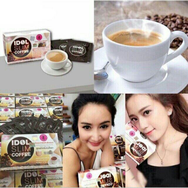 CAFE GIẢM CÂN IDOL SLIM COFFEE XỊN