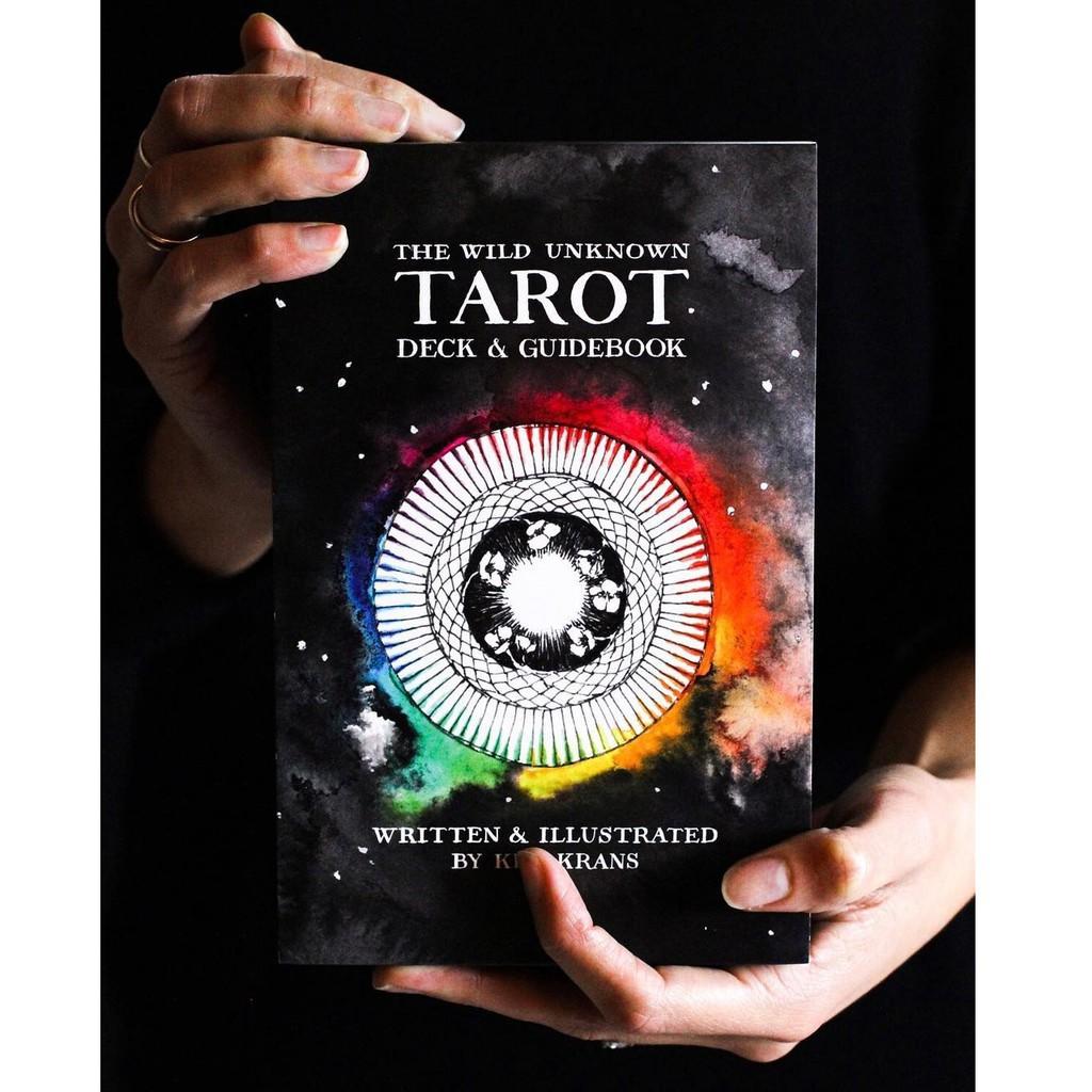 Bộ bài The Wild Unknown Tarot Deck & Guidebook 4 in 1