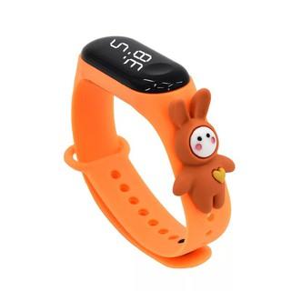 Đồng hồ Led trẻ em nhiều màu hình ngộ nghĩnh DH109