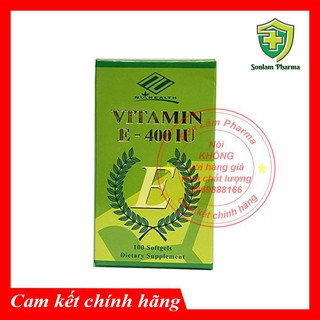 Vitamin E 400IU chống lão hóa da