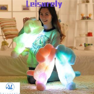💜LEILY💜 Soft Kid Gift Creative Colorful Glowing Pillow Plush Dog