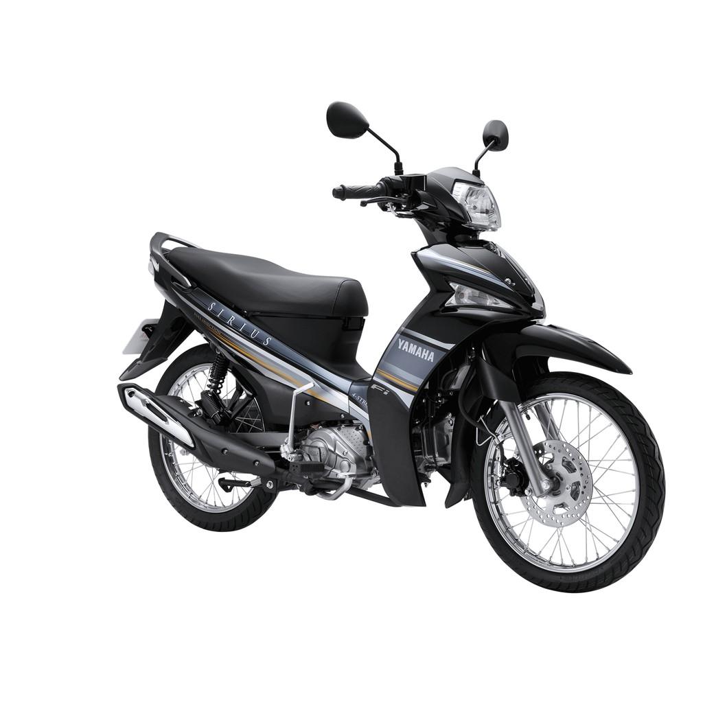 [Nhập mã MANEW07 giảm 15% - tối đa 30K]Xe Yamaha Sirius FI Phanh Đĩa 2018 (Đen) + Tặng nón bảo hiểm,