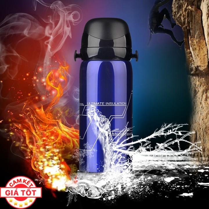 Bình Giữ Nhiệt Vacuum Pot Bằng Inox 304 800ml