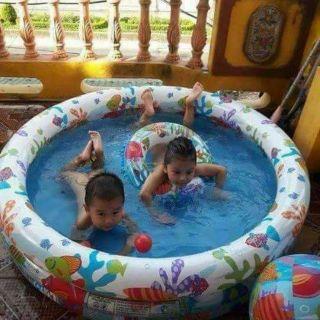 Bể bơi 3 chi tiết intex