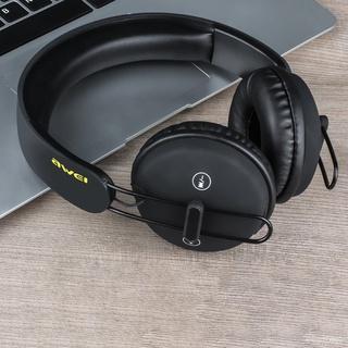 Tai Nghe Bluetooth Awei A800BL, Tai Nghe Chơi Game Thể Thao Rảnh Tay Không Dây Âm Thanh Nổi Qua Tai Dành Cho Điện Thoại thumbnail