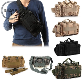 Reayb Multipurpose Outdoor Military Tactical Waist Bag Waterproof Oxford Fabric Camping Hiking Pouch Pack Bags