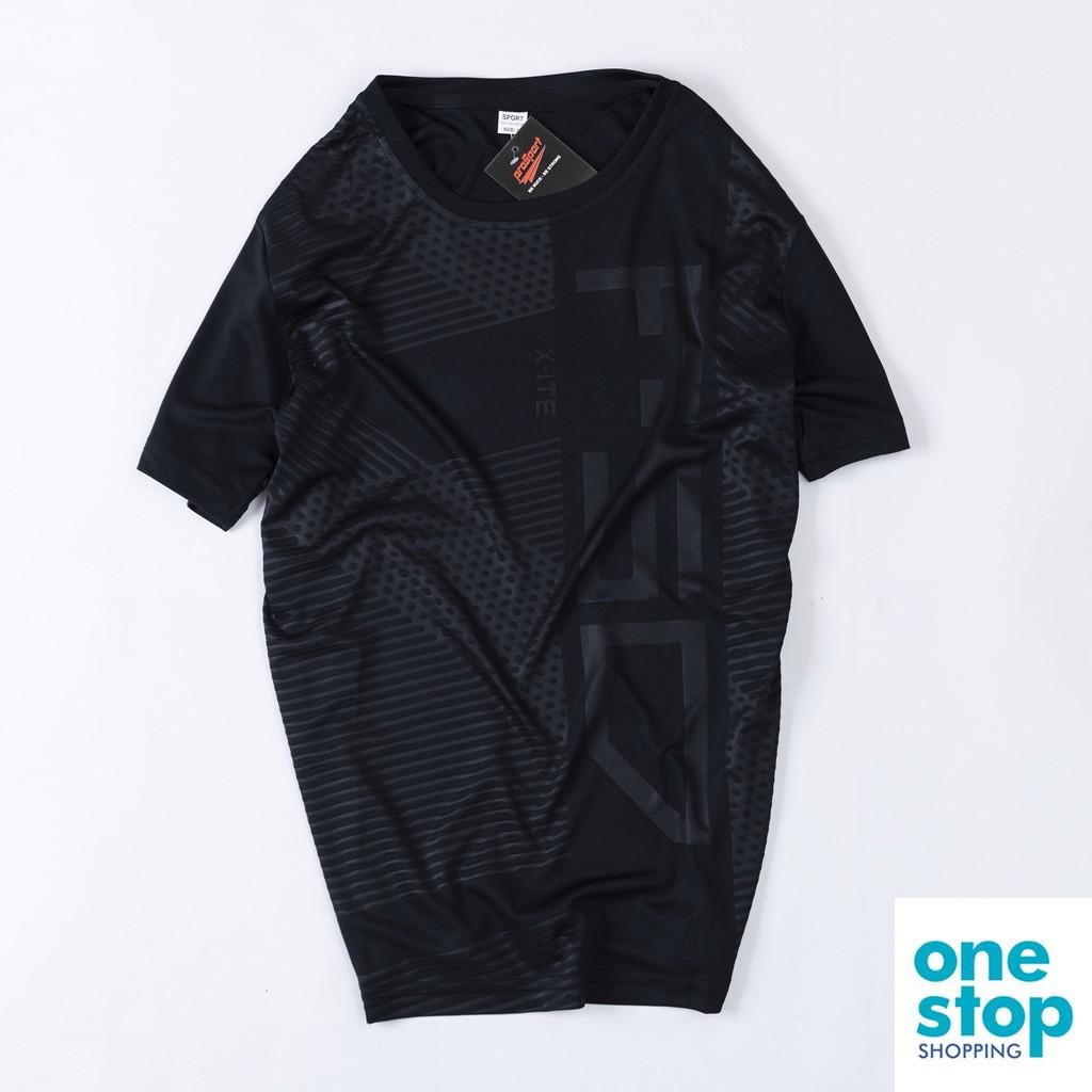 Áo thun ngắn tay thể thao nam 40-80kg chất thun cao cấp thoáng mát_one shop 04