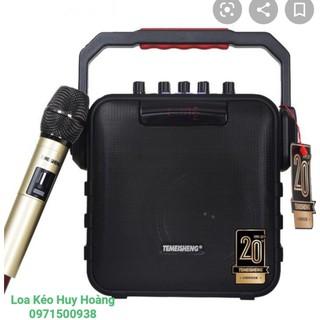 CÓ VIDEO Loa kéo di động xách tay Temeisheng SL05-26, hàng chính hãng kèm 1 mic hát hay, nguồn acquy xịn thumbnail