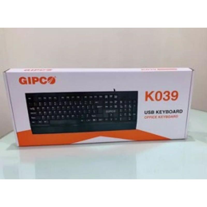 Bàn phím có dây Gipco K039