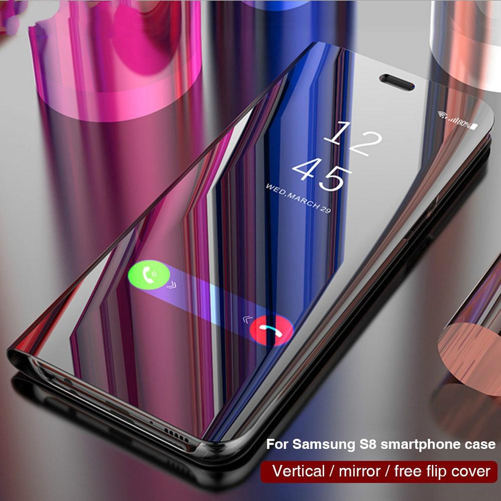 Mã FSS09JAN hoàn 20% XU đơn từ 0đ]Ốp điện thoại nắp gập tráng gương cho  Samsung A70 A50 A30 A20 A10 M20 M10