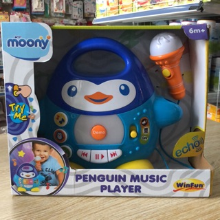 Đàn nhạc chim cánh cụt kèm Mic hát Winfun