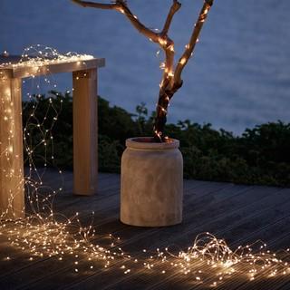 [Dây Cắm 220V] 5m /10m Điện Đèn Fairy Light, đèn led dây đồng/ Đèn led đom đóm