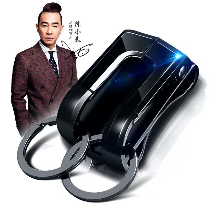 ✓Bai Cheng Belt key buckle man waist hanging car anti-high-grade men's wear