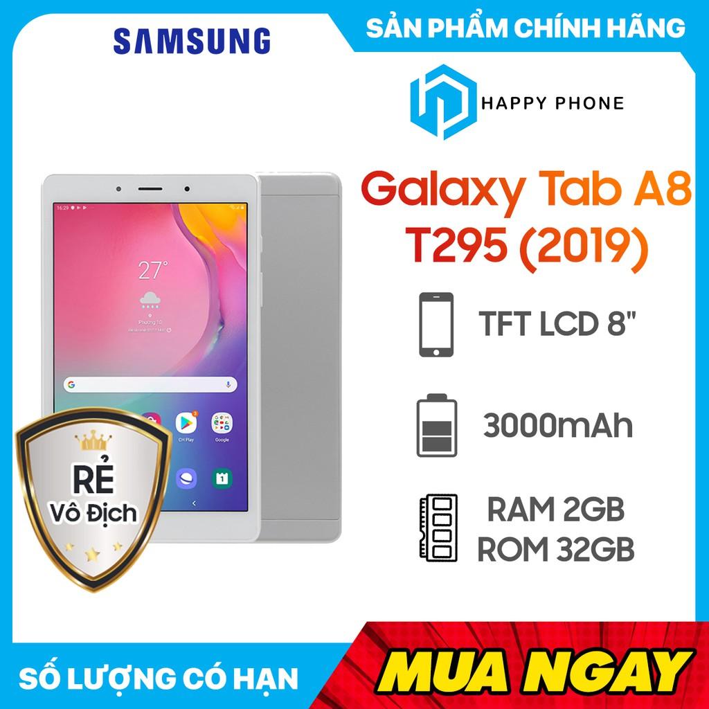 Máy tính bảng T295 (2019) Samsung Galaxy Tab A8 - Hàng chính hãng, bảo hành 12 tháng, Mới 100%, Nguyên Seal